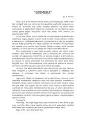 quimera por w donadon