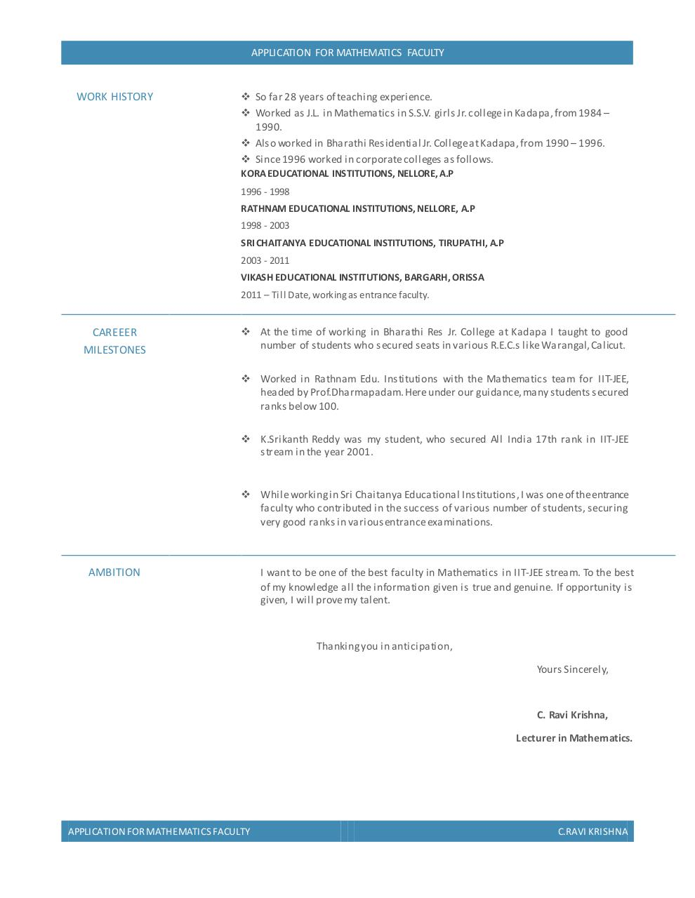 Document preview RESUME_General.pdf - page 2/2