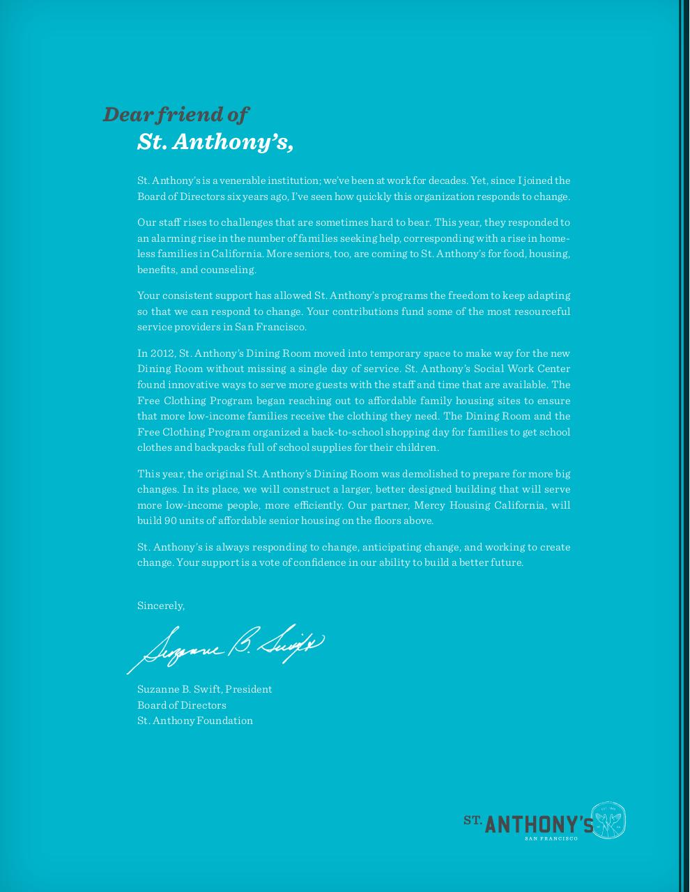 St. Anthony's Annual Report 2012.pdf - page 2/6
