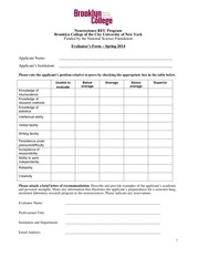 PDF Document evaluator form 2014
