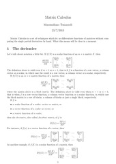 PDF Document matrixcalculus
