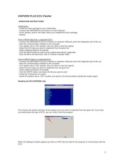 kwp2000 user manual