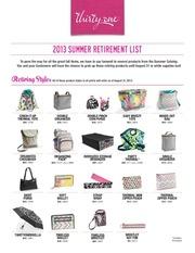 summer retirement list