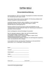 PDF Document einverst ndniserkl rung