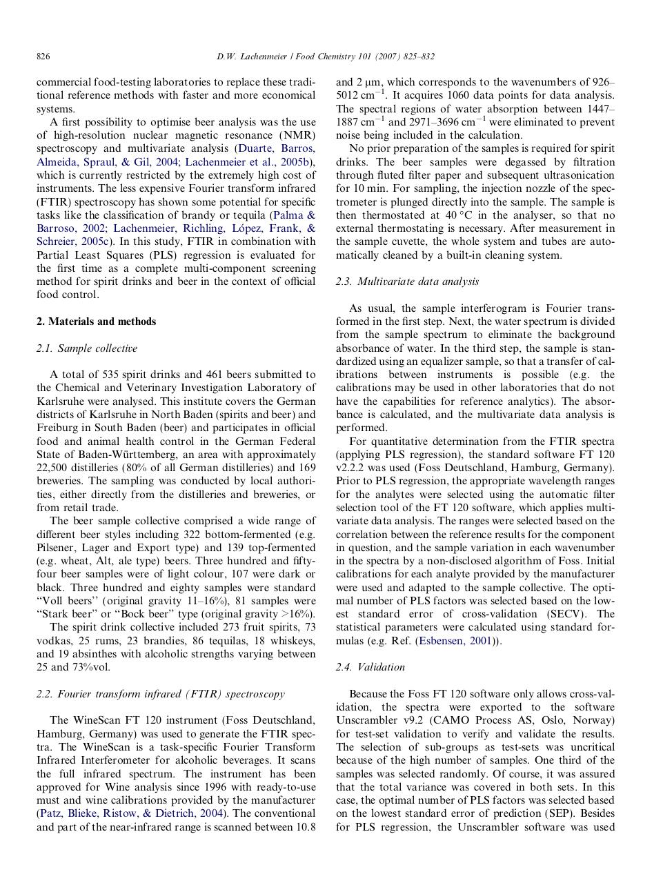 Rapid quality control of spirit drinks and beer using FTIR.pdf - page 2/8