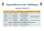 dienstplan 2 2013
