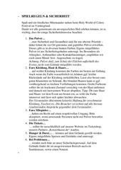 PDF Document spielregeln