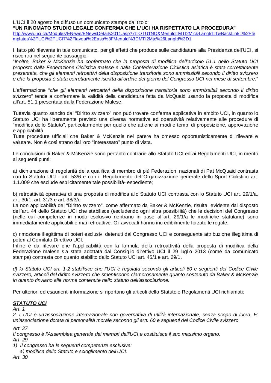 Commento a Press Release UCI 20 agosto - ITA-ENG.pdf - page 1/4