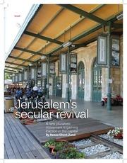 jerusalem s secular revival