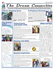the dream connection 2013 summer newsletter