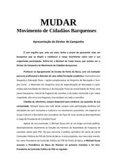 PDF Document diretor de campanha