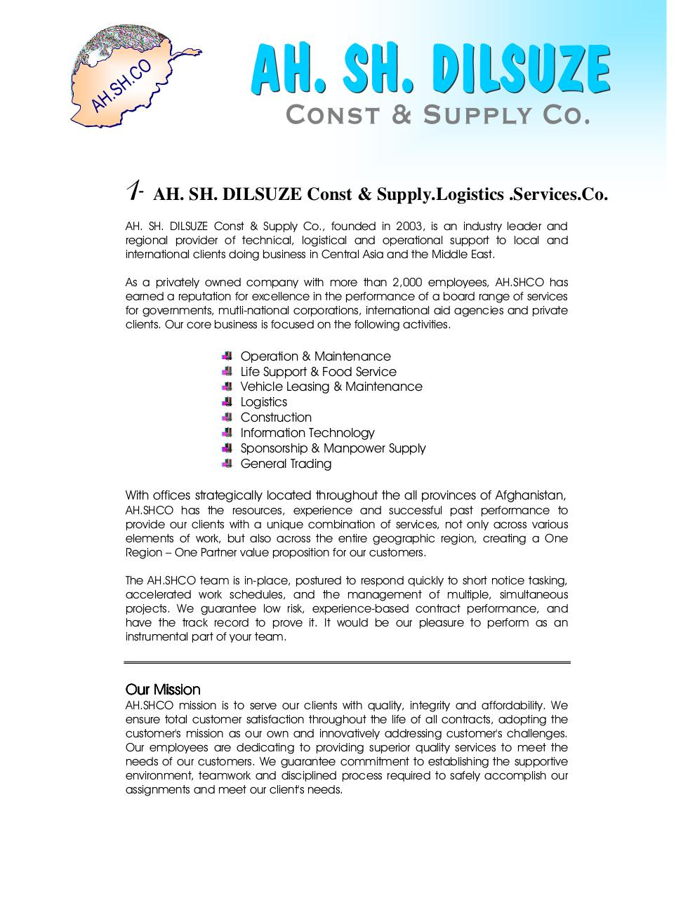 Fact_Sheet AH.SH.DILSUZE Company.pdf - page 2/66