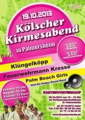 kirmes palmersheim flyer 2013