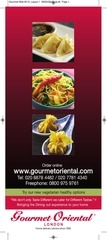 gourmet oriental online menu