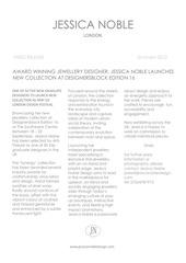 jessica noble design press release designersblock sept 2013
