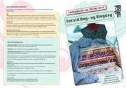 tekstil bog og blogdag