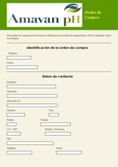 PDF Document formulario orden de compra