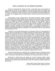PDF Document visi n y expresi n de una realidad compartida