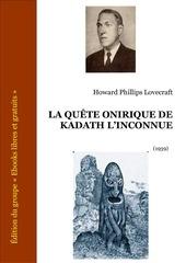 lovecraft quete onirique kadath inconnue