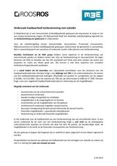 haalbaarheid herbestemming met subsidie m3e en roosros