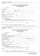 PDF Document inscription vide greniers