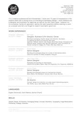 bart nagel resume 2013