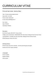 PDF Document jeremy mary cv 1
