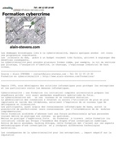 formation cybercriminalite alain stevens