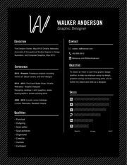 anderson walker resume