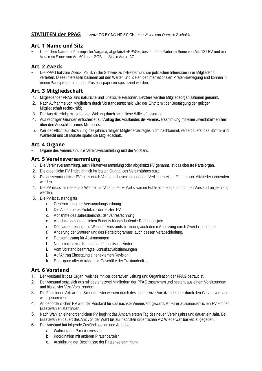 Document preview Statuten_PPAG_A4.pdf - page 1/2