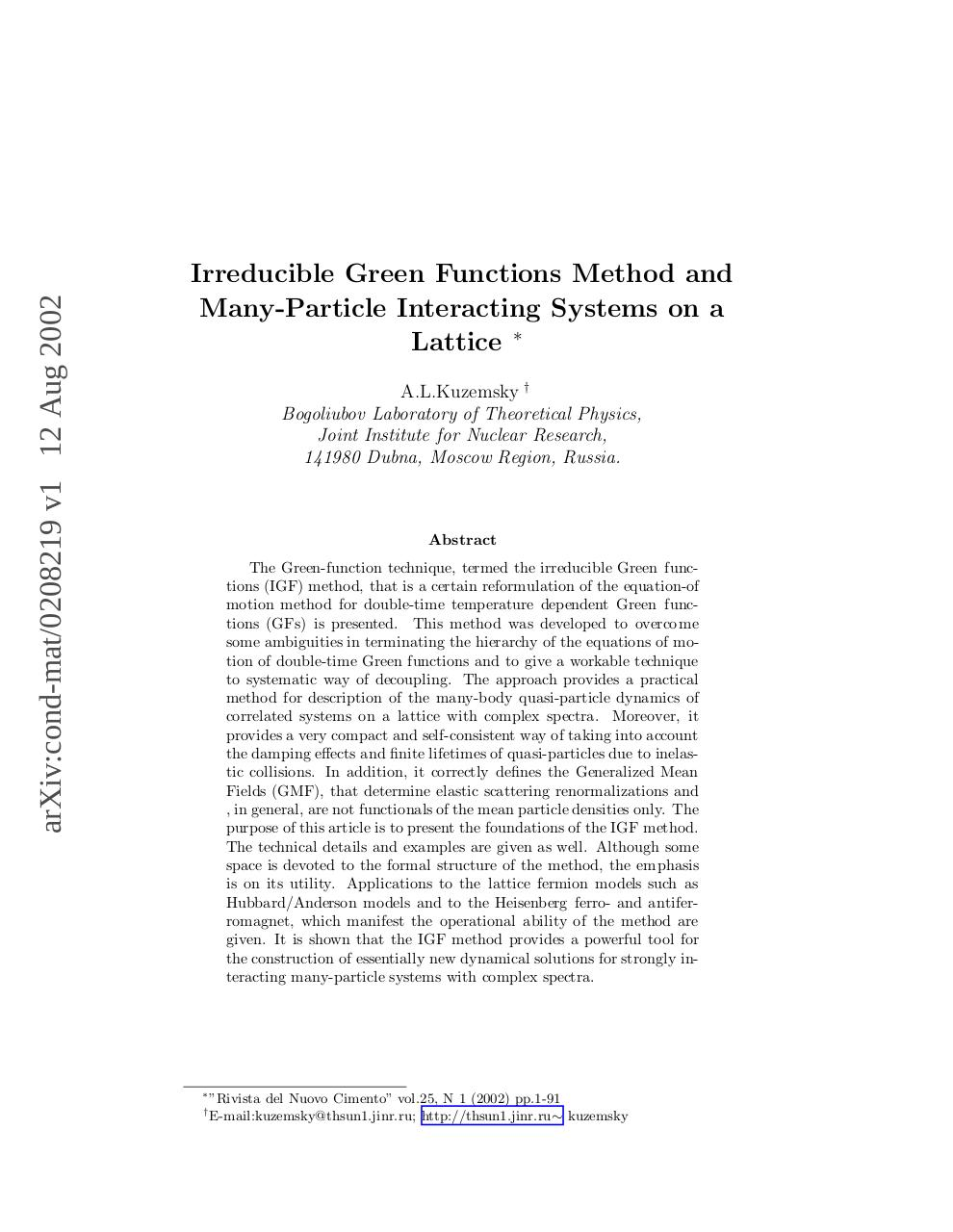 Many-Particle_Strongly_Interacting_Systems.pdf - page 1/108