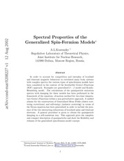 quantum magnetism and spin fermion models
