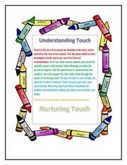 understanding touch