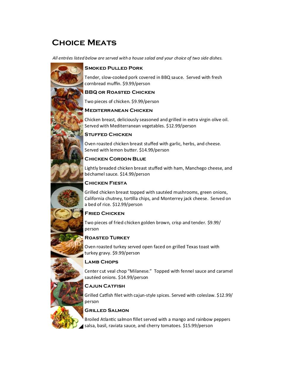 Bere's Hall Catering Menu (Full size).pdf - page 4/12