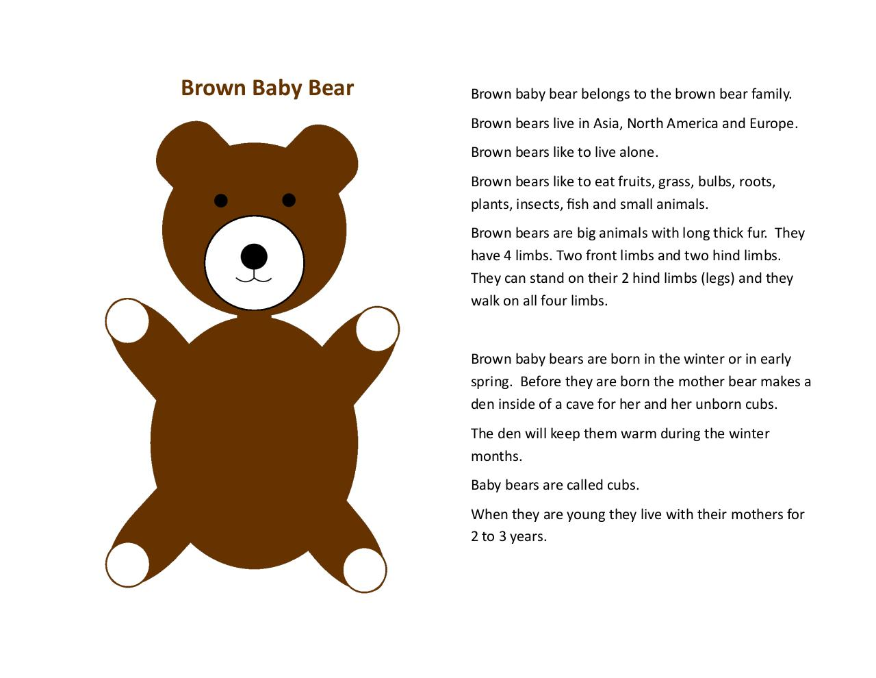 brown baby bear activity pages test.pdf - page 3/13