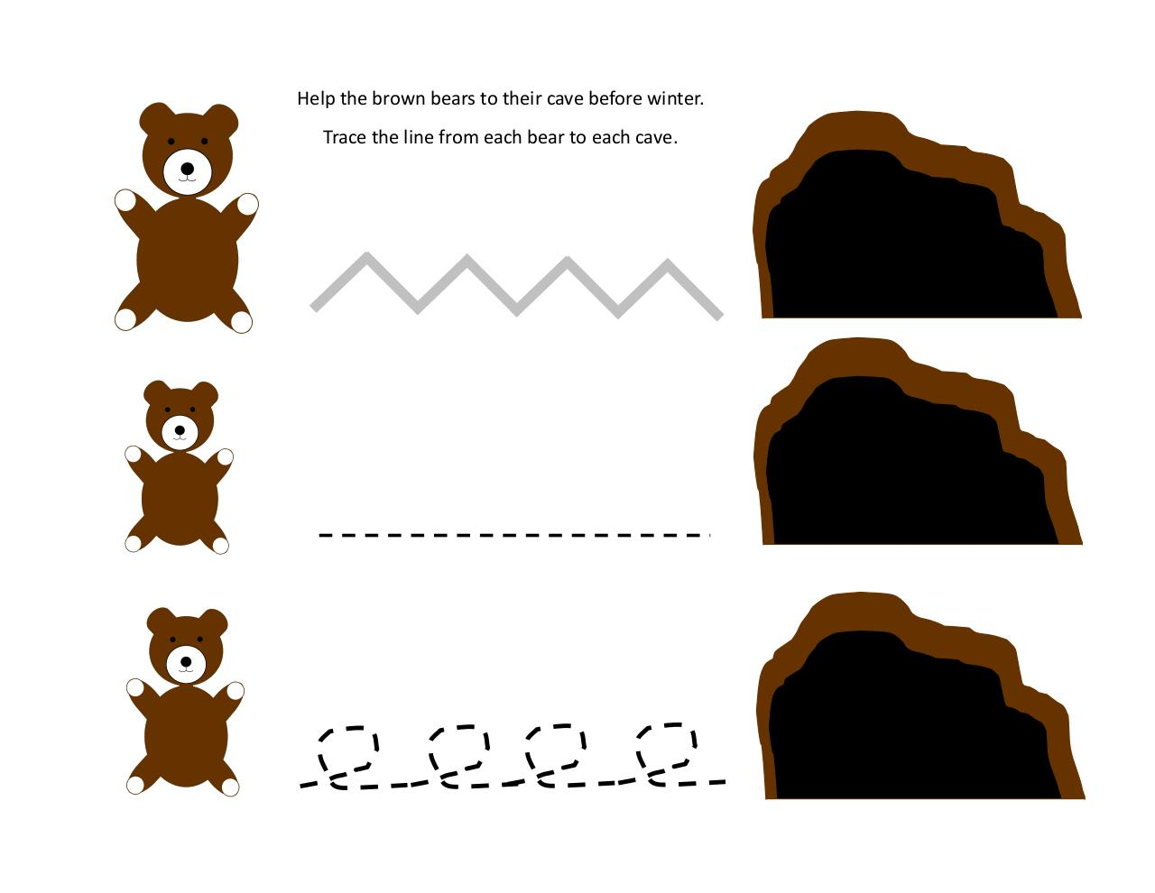 brown baby bear activity pages test.pdf - page 4/13