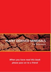 plant derived minerals the reference