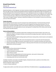 PDF Document financial analyst job description bsr
