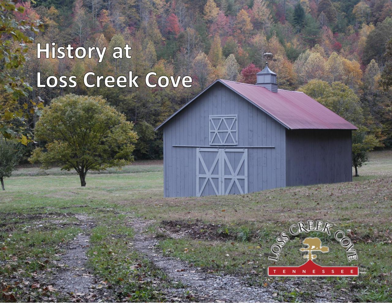 Loss Creek Cove History.pdf - page 1/12