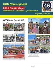 gbu mountain news s3 on fiesta days aug 6 2013