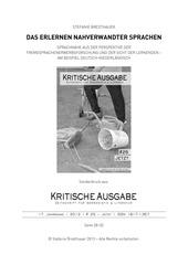 PDF Document daserlernennahverwandtersprachen bredthauer sonderdruck