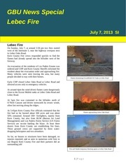 gbu mountain news s1 on lebec fire july 7 2013