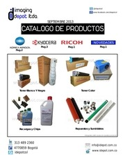 idepot catalogo sept 2013