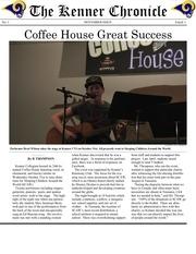 kenner chronicle november issue 1