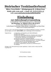 stb vollversammlung 2014