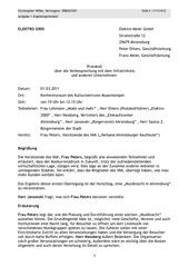 einsendeaufgabe protokoll brief stim 3 24 11 13