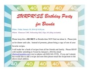 brenda s b day invite