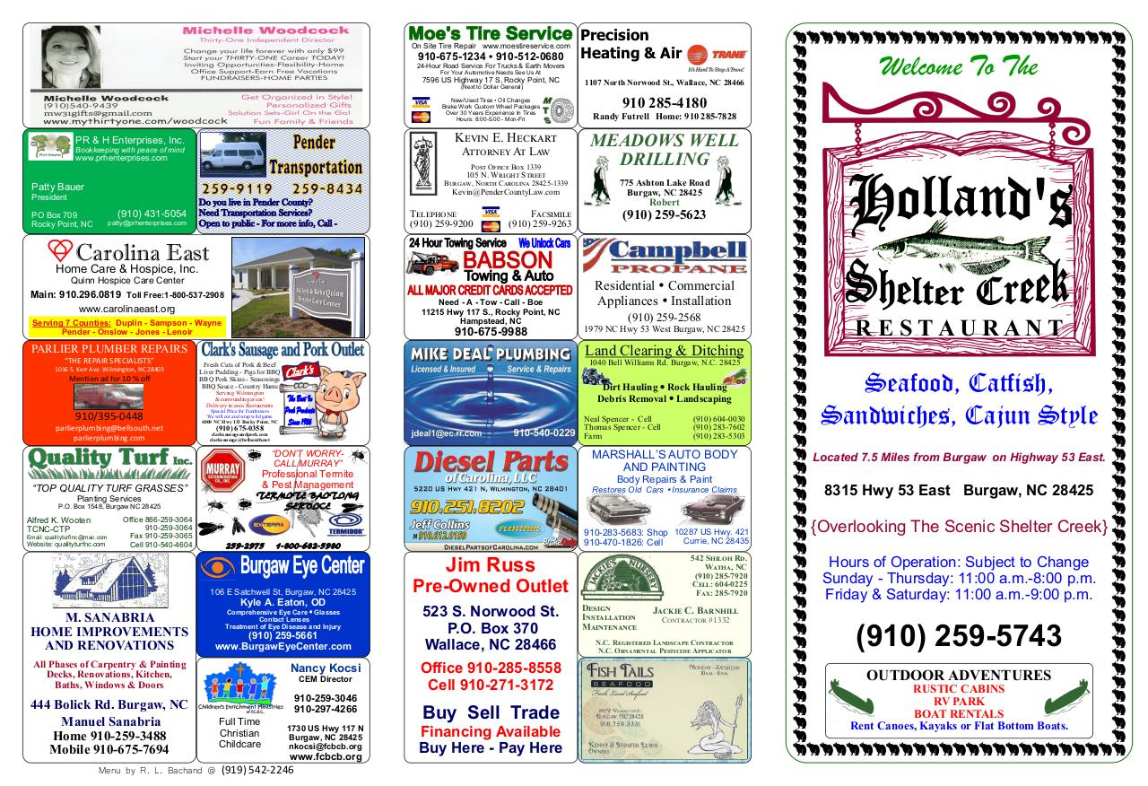 Holland's B by Bob Bachand - PDF Archive