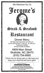 jeromes steak house