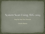 PDF Document system scan using avg 2014